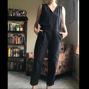 J Crew black jumpsuit